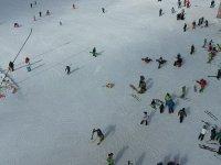 'Karsız kış'a rağmen Kartalkaya'ya yoğun ilgi