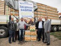 Büyükşehir Belediyesi'nden arı yetiştiricilerine destek
