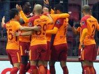 Galatasaray sahasında farklı kazandı