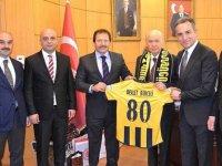 Ankaragücü Başkanı Yiğiner'den Bahçeli'yi ziyaret