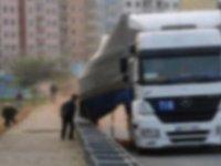 Ankara'da tır dehşet saçtı, sürücü kaçarken yakalandı