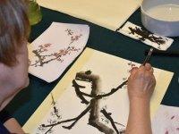 Başkentliler Güney Kore kaligrafi sanatının ustası oldu