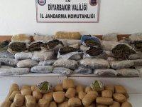 Diyarbakır'da terör ve uyuşturucu operasyonu
