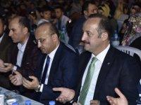 Mamak'ta adaylarla iftar sofrası