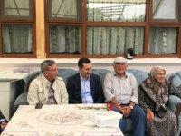 Başkan Çetin'den şehit ailelerine babalar günü ziyareti