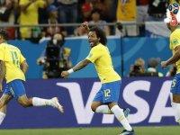 Brezilya'dan Kosta Rika'ya büyük üstünlük