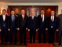 Başkan Tuna'ya büyükelçilerden ziyaret