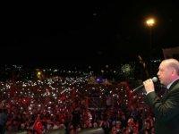 Erdoğan, 15 Temmuz Şehitler Köprüsü'nde konuştu