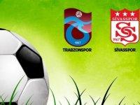 Trabzonspor ile Demir Grup Sivasspor 25. randevuda