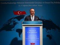 Dışişleri Bakanı Çavuşoğlu'nun ABD ile ilgili açıklaması
