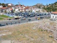 Bentderesi'ndeki 2 bin yıllık antik tiyatronun etrafı tel örgü ile kapatıldı