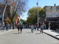 7. Cadde Avrupa Hareketlilik Günü vesilesiyle trafiğe kapatıldı