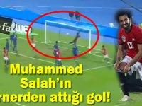 Muhammed Salah kornerden gol attı! İşte Salah'ın muhteşem korner golü!