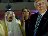 ABD Başkanı Donald Trump Suudi Arabistan Kralı Selman ile görüştü