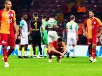 Galatasaray sakata geldi! kendi evinde puan kaybetti