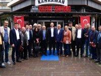 """""""Ertürk'ü Büyükşehir adayı olarak görmekten onur duyarız"""""""