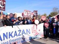 Şehit yakınları ve gazilerden Lokman Ertürk'e destek