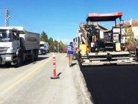 Pursaklar'da 14 yılda 563 bin ton asfalt atıldı