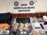 Ankara'da şifreli haberleşme programı ile uyuşturucu ticareti