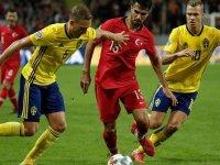 A Milli Futbol Takımı İsveç karşısında