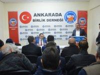 Ercan: Ankara'da Birlik Derneği, tabela derneği olmadı