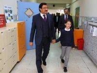 Mustafa Ak'ın son durağı M. Akif İlkokulu oldu