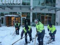 Kahramankazan'da kar teyakkuzu