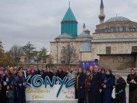 Pursaklar halkı Konya'da