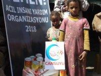 Cansuyu Derneği Yemen'de 14 bin muhtaca yardım eli uzattı