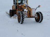 Gölbaşı'nda kar 10 santime ulaştı
