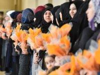Ankara Büyükşehir'den kadınlara çiçek