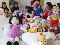Örgü bebek kursuna yoğun ilgi