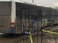 Sincan cezaevinde gazi ve avukatlara otobüs çarptı
