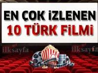 Tüm Zamanların En Çok İzlenen 10 Türk Filmi - İzleyici Sayıları ve Gişe Hasılatları