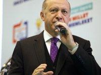 Erdoğan: Terör örgütlerini gömerek bugünlere geldik