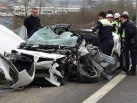 Düzce'de zincirleme kaza:1 ölü, 1 ağır yaralı