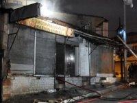 Ankara'da Suriyelilerin işlettiği fırında yangın
