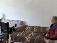 İki bacağı diz altından kesilen Suriyeli babanın dramı