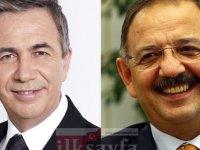Ankara seçim anketlerine göre kim önde, Özhaseki mi Yavaş mı?