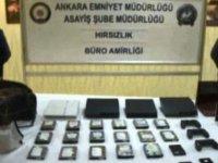 Özel düzenekli çantayla hırsızlık yapan çete yakalandı