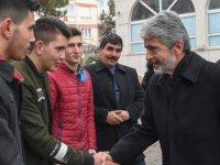 Mustafa Tuna'dan Çubuk'a ziyaret