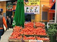 Yenimahalle'de bir market, tanzim satış noktası kurdu