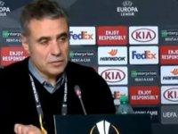 Ersun Yanal: Hatalarımızla kaybettiğimiz bir maç oldu