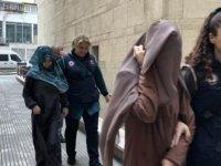 Bursa'da yakalanan DEAŞ'lı kadın teröristler adliyede