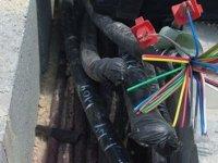 Ankara'da YHT kablolarını çalan zanlı yakalandı