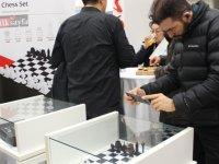Başkent'in simgeleri satranç takımında
