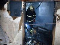 Adana'da hastanede korkutan yangın