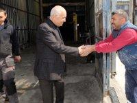 Yaşar'dan Örnek Sanayi Sitesi'ne ziyaret