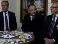 Mehmet Özhaseki gazilerle buluştu