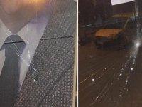 AK Parti seçim merkezine saldırı! Gözaltılar var